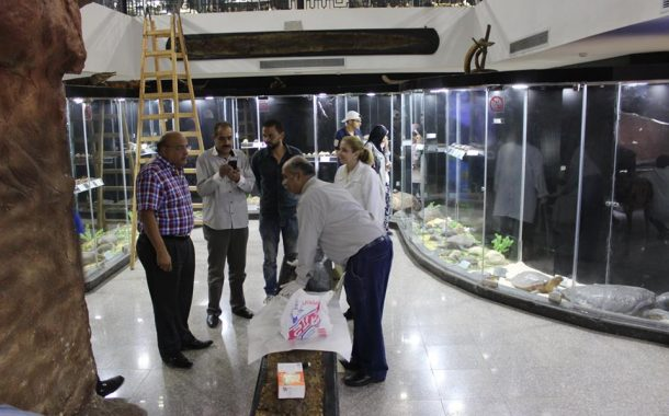 فتح المتحف الحيوانى بحديقة الحيوان بالجيزة لزوار شم النسيم