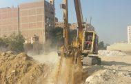 الري والاسكان تشاركان في تطهير مخر سيل طره لتنفيذ خطوط مياه شرب القاهرة الجديدة