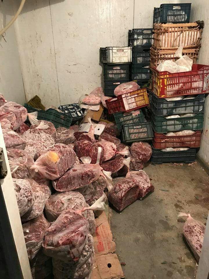 الزراعة: ضبط 1.6طن لحوم ودواجن واسماك فاسدة في 7 محافظات