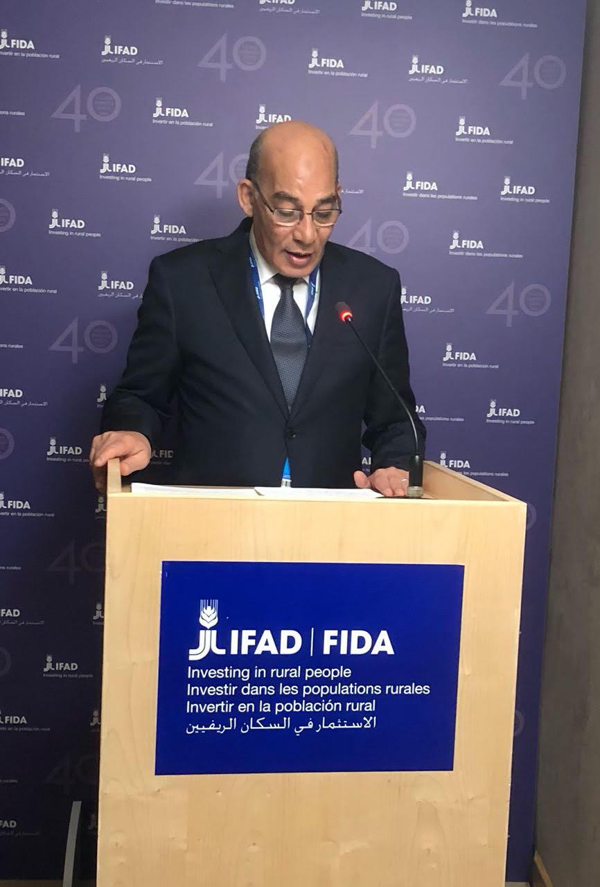 وزير الزراعة يهنئ الرئيس السيسي بعيد الفطر المبارك