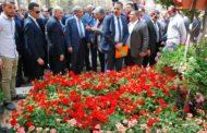 5 وزراء  في إفتتاح مهرجان الربيع... والبنا: تصدير طن زهور يوفر 300 فرصة عمل