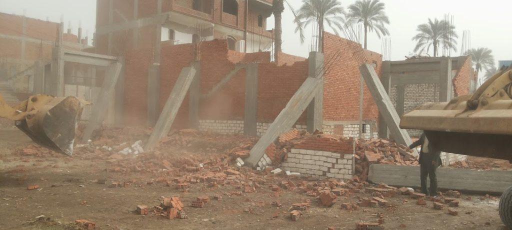 تقرير : إزالة 133 ألف و 518 حالة تعد علي النيل ومنافع الصرف والري بالمحافظات