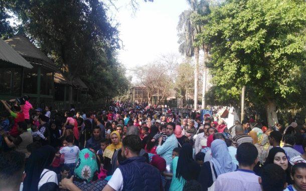 حديقة الحيوان تتخطي حاجز الـ 100 ألف زائر ... وفتح أبواب الطوارئ لأول مرة