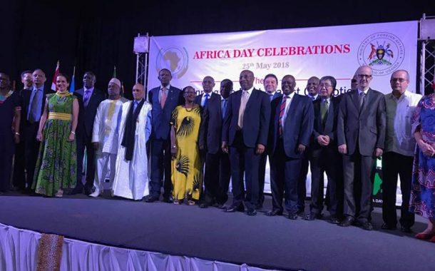 بالصور... السفارة المصرية لدى أوغندا تشارك في الاحتفال بيوم أفريقيا