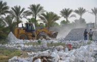 الدولة تسترد 7200 فدان ومليوني متر من الاراضي 3 ايام