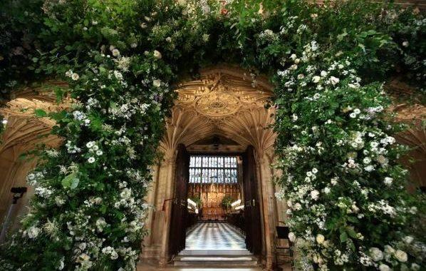 زفاف الامير هاري الابن في أحضان زهور الاميرة ديانا الام