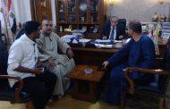 بالصور.. وزير التموين يوقع بروتوكولا مع نقابة الفلاحين لفتح منافذ بيع جديدة استعدادا للعيد