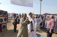 بالمزمار البلدي وزير الزراعة يفتتح موسم جني القطن من محافظة الفيوم