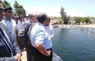 وزير الزراعة يتفقد المشروعات السمكية في جنوب سيناء