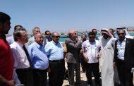 بالصور... وزير الزراعة يتفقد أعمال تطوير ميناء الصيد بالطور للانتهاء منه قبل نهاية العام الحالي