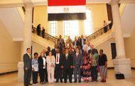 وزير الزراعة يستعرض مع الوفد البرلماني الافريقي رؤية مصر في تكثيف التعاون الزراعي بين دول القارة السمراء