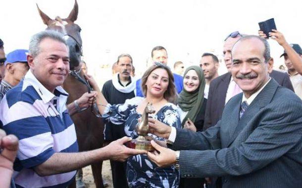 المهرة «أمل عكاشة» تفوز بمهرجان الشرقية للخيول (صور)