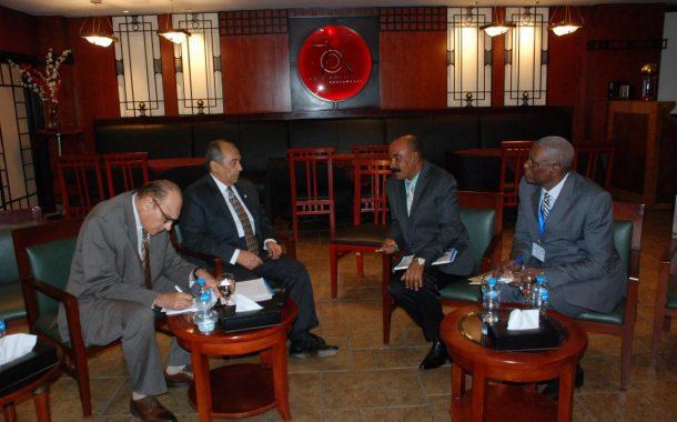 وزير الزراعة يعقد 9 لقاءات ثنائية مع وزراء افارقة لتكثيف التعاون في تنمية الثروة السمكية