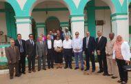أعضاء اللجنة العليا المشتركة المصرية السودانية في ضيافة الري المصري