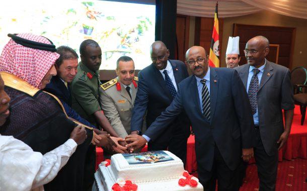 صور...السفارة المصرية فى أوغندا تحيى الذكرى 45 لانتصارات أكتوبر