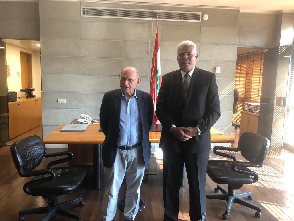 نقيب الزراعيين لنظيره اللبناني: تدريب المهندسين اللبنانيين علي الاستزراع السمكي والاستخدام الأمن المبيدات