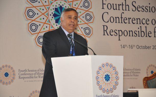 دكتور رجب عبد العظيم الوكيل الدائم لوزارة الري يشارك فى اجتماعات منظمة