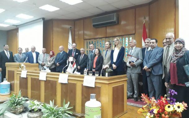 بالصور...مؤتمر مصري الماني يبحث دور صناعة الامصال واللقاحات في تطوير الإنتاج الحيواني والداجني