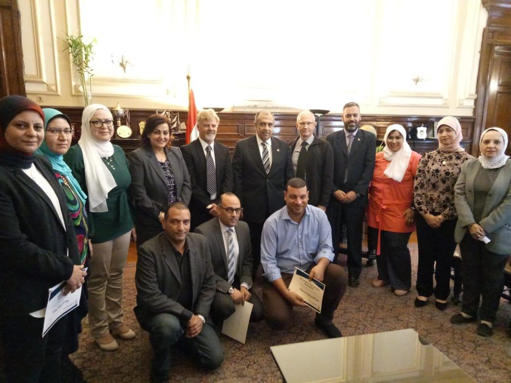 تفاصيل لقاء وزير الزراعة مع سفير نيوزيلاندا