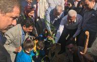 بالصور | تدشين حملة زراعة مليون شجرة مثمرة بالمنوفية بحضور المحافظ ونقيب الزراعيين