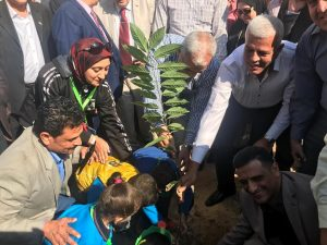 تدشين حملة زراعة مليون شجرة مثمرة بالمنوفية بحضور المحافظ ونقيب الزراعيين