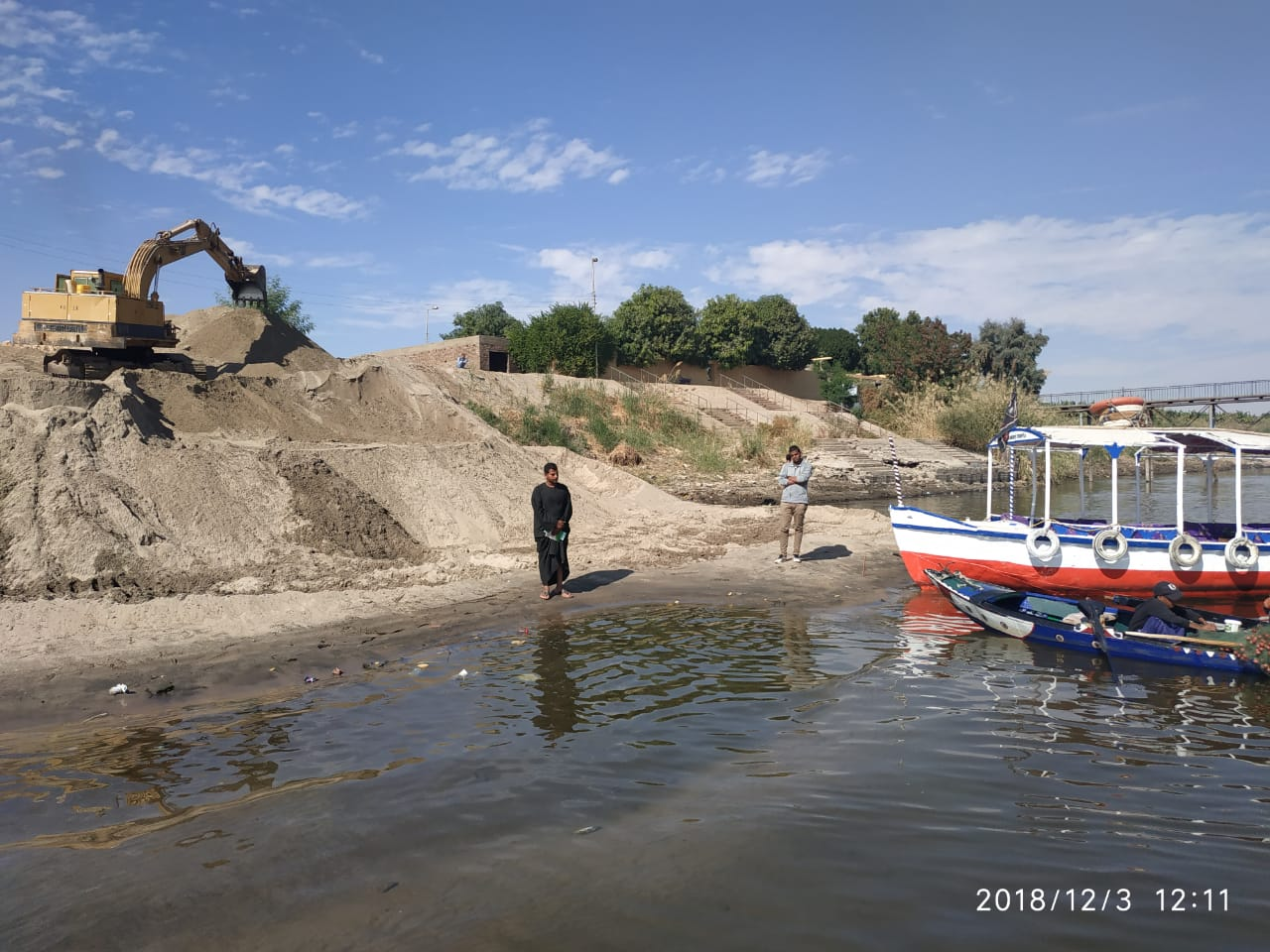 رئيس قطاع الخزانات يتابع منظومة قناطر النيل إستعدادا لـ
