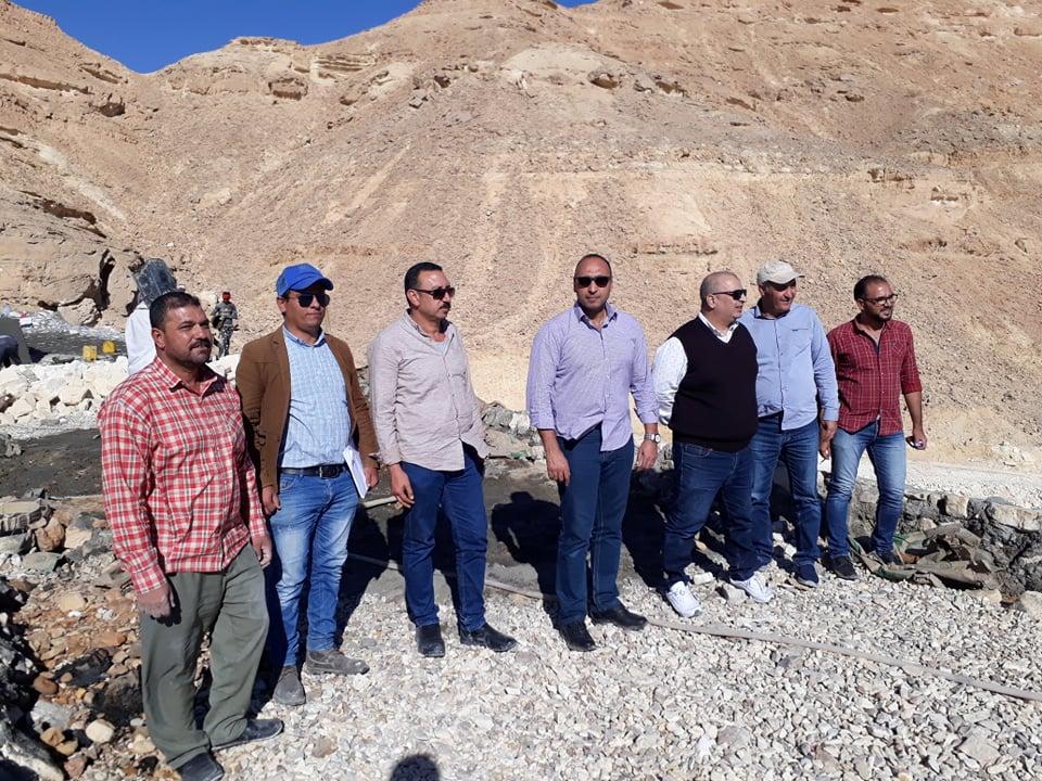 الإنتهاء من المرحلة الاولي من حماية جنوب سيناء من مخاطر السيول منتصف فبراير المقبل
