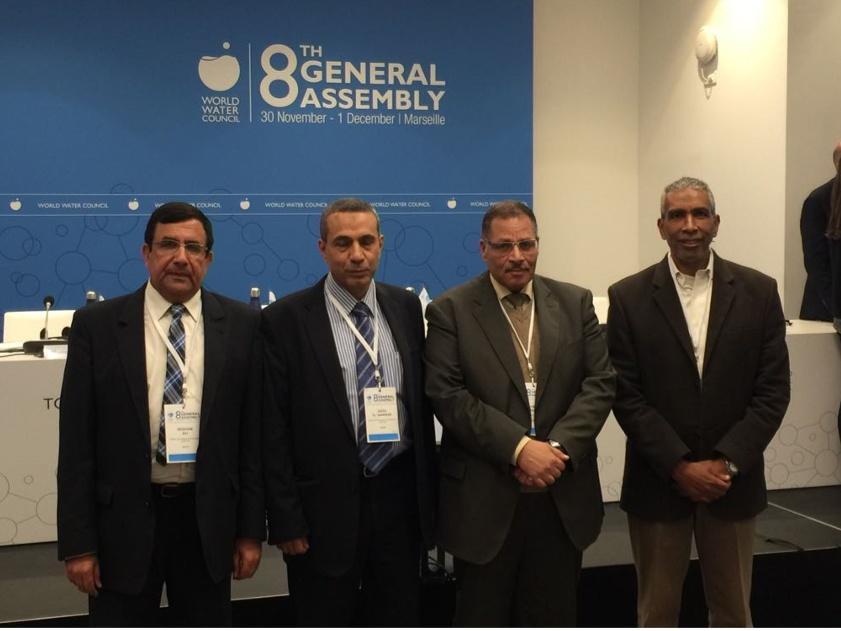 فوز مصر بمقعد في مجلس المحافظين للمجلس العالمي للمياه