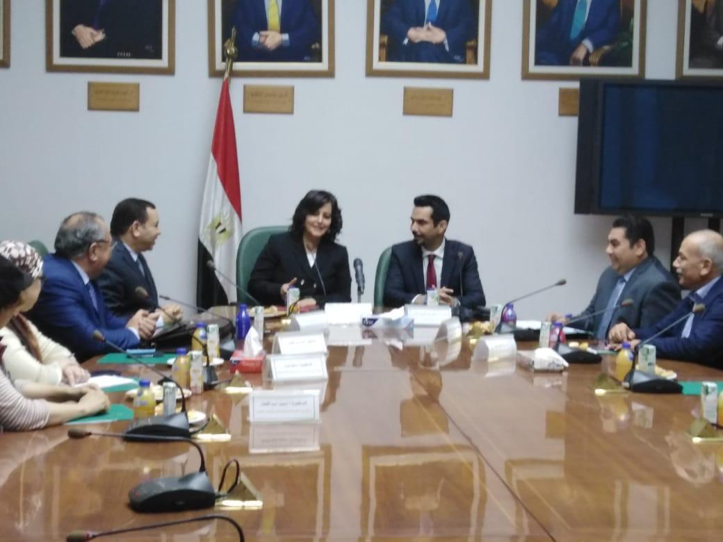 نائب وزير الزراعة تستقبل وفد هيئة الزراعة والثروة الحيوانية بدولة الكويت | بالصور