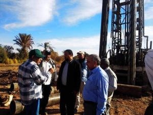 الادارة المركزية للمياه الجوفية لجنوب الصحراء الغربية تنفذ مشروعات مائية بقيمة 164 مليون جنيه