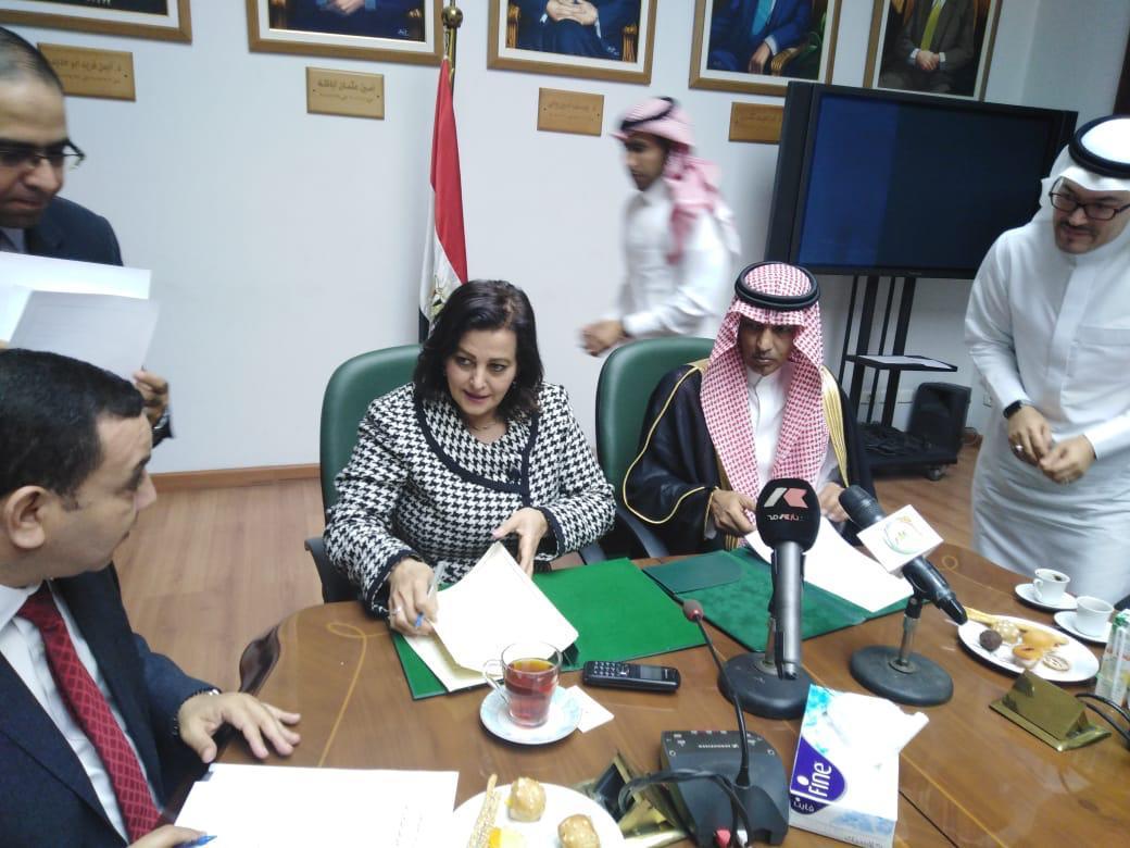 توقيع اتفاقية تعاون بين وزارتي الزراعة المصرية والسعودية فى مجال الخدمات البيطرية