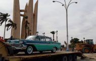 سيارة وزير السد العالي ومقتنيات المشروع تشارك في الاحتفال بالعيد القومي لأسوان