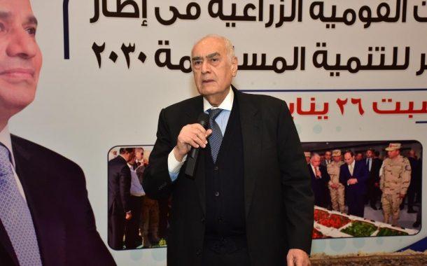 جامعة عين شمس تمنح الدكتور عادل البلتاجي الجائزة التقديرية في العلوم الزراعية