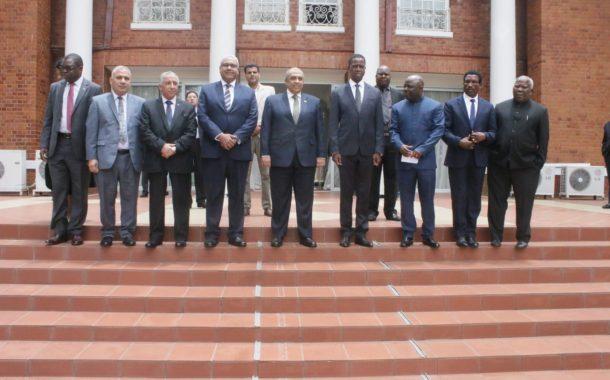 تفاصيل لقاء وزير الزراعة مع رئيس زامبيا (المزارع المصرية كلمة السر)