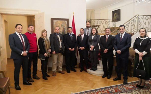رئيس الحجر الزراعي يشيد بدور السفير عمرو جويلي في نجاح مصر في فتح الأسواق الصربية أمام الصادرات الزراعية
