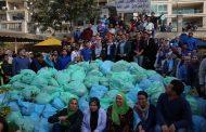 وزيرة البيئة : رفع أكثر من 3 أطنان مخلفات خلال 3 ساعات في مبادرة