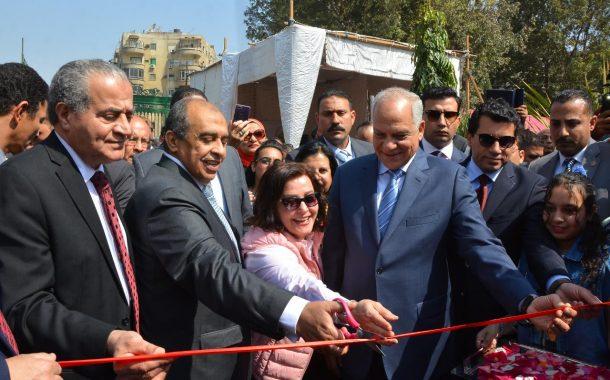 3 وزراء في إفتتاح معرض زهور الربيع... وأبوستيت: نستهدف مليون زائر وتطوير صناعة نباتات الزينة