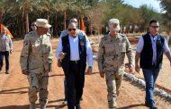 بالصور.... تفاصيل زيارة الرئيس السيسي لمزرعة توشكي للنخيل