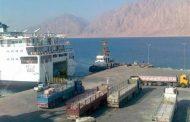 للمسافرين إلي الاردن: اغلاق ميناء نويبع لسوء الاحوال الجوية