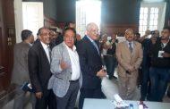 محافظ الجيزة يتفقد الحالة الأمنية حول اللجان الانتخابية بالمتحف المصري