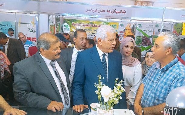 نقيب الزراعيين بعد إفتتاح معرض الوادي بالأقصر: أولوية التنمية لخدمة الصعيد والصادرات الزراعية