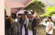 نقيب الزراعيين يدلي بصوته في الإستفتاء علي التعديلات الدستورية بالمنيل