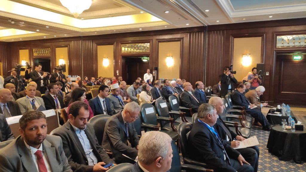 وزير الري ووزيرة البيئة وممثل الفاو في مصر 2