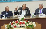 ماذا قال وزير الزراعة أمام المجمع العلمي المصري؟