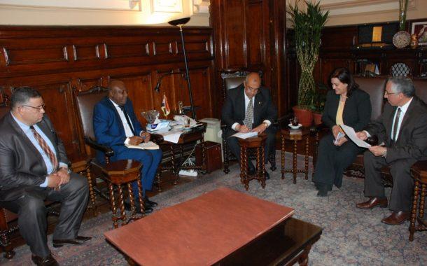 مصر تعرض تجربتها لزيادة إنتاجية الارز علي مركز الارز الأفريقي