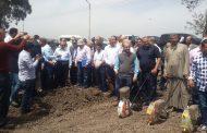 أبوستيت يفتتح أول موسم لزراعة القطن آليا بمحطة بحوث سخا بكفر الشيخ