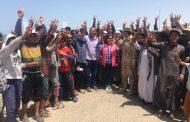 نائب وزير الزراعة و محافظ شمال سيناء يفتتحان موسم الصيد بحيرة البردويل.. بالصور