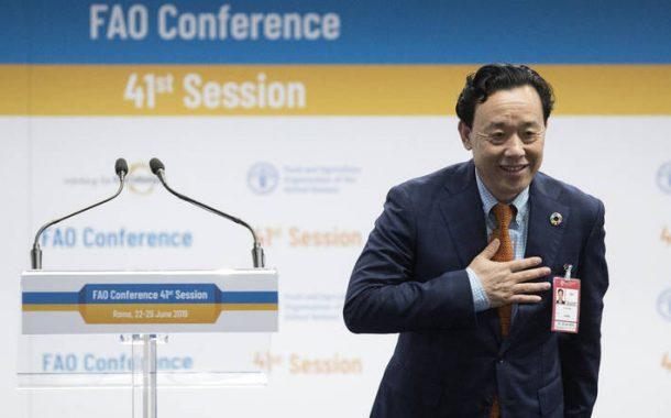 المرشح الصيني مدير لمنظمة الفاو خلفا بأغلبية أصوات الجولة الأولي في روما
