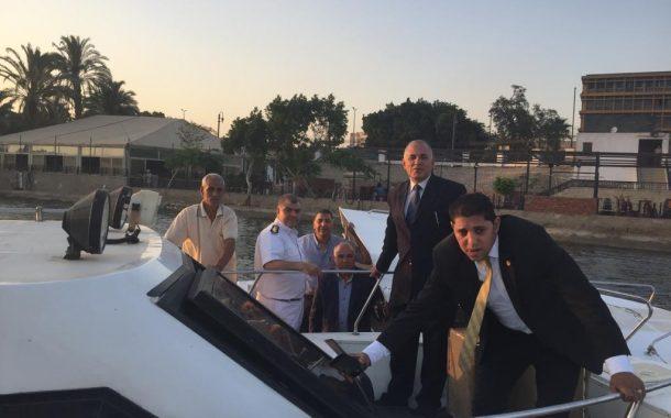 الري تبدأ أول تطبيق لنظام الحملات الليلية لملاحقة التعديات علي نهر النيل (صور)