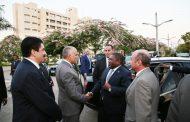 تفاصيل جولة رئيس موزمبيق للمركز القومي لبحوث المياه بالقناطر الخيرية